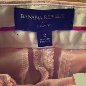 Banana Republic outlet Sloan fit ankle skinnies